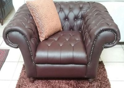 CHESTERFIELD ARM CHAIR