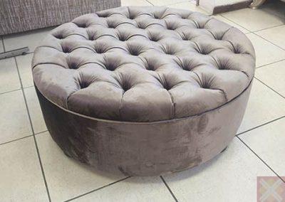 1 Metre Round Ottoman