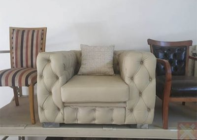 Full button Chesterfield Couch