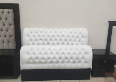 King size Head board bonded leather